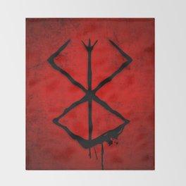 The Berserk Addiction Throw Blanket