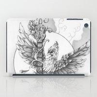banjo iPad Cases featuring Banjo Bird by Brady Scott