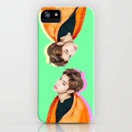 Doublemint Mark iPhone Case