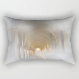 Light At The End Of The Tunnel. Rectangular Pillow