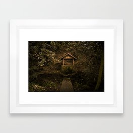 Well of Forgotten Wishes Framed Art Print