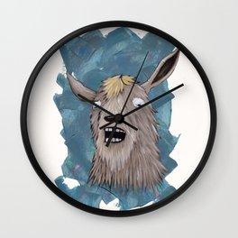 Goats That Scream Like People Wall Clock