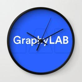 Graphylab #1 Wall Clock