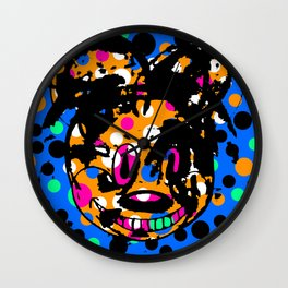 ROUGH MOUSE. Wall Clock