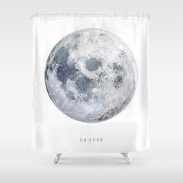 La Lune Shower Curtain