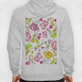 Watercolor Garden Hoody