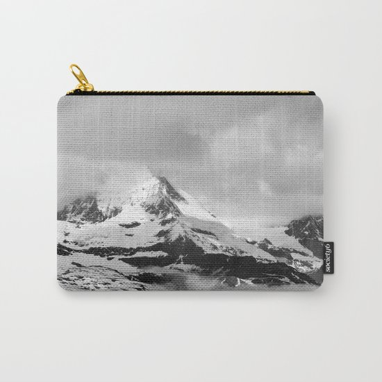 Mountain meets Clouds Carry-All Pouch