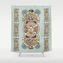 Avenoir Shower Curtain