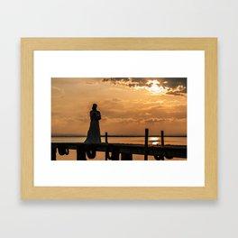 Albufera II Framed Art Print