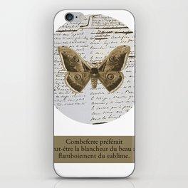 Combeferre iPhone Skin