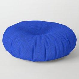 Blue Fibre Floor Pillow