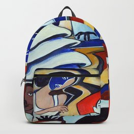 The Blue Piano Backpack