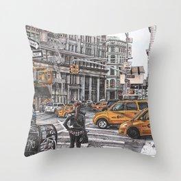 New York I Love You Throw Pillow