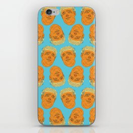 PigFaced Trump Pattern iPhone Skin