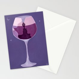 Lips like cherry wine Stationery Cards