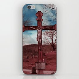 Christ on Cross iPhone Skin