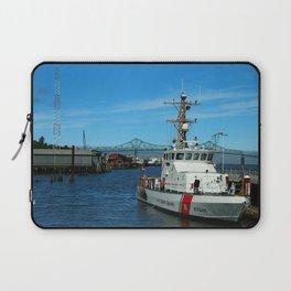 US Coast Guard On Columbia River Laptop Sleeve
