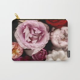 Red, White, Yellow, and Pink Roses Carry-All Pouch