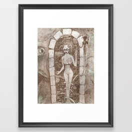 and on the 3rd day Framed Art Print