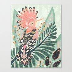 Hoopoe Bird Canvas Print