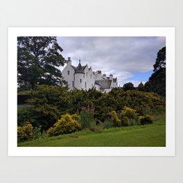 Blair Castle Art Print