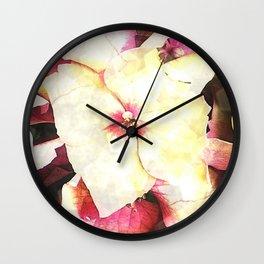 Hortensia - Hydrangea Wall Clock