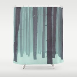 Frozen kingdom Shower Curtain