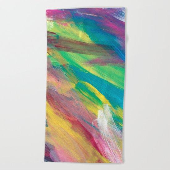 Abstract Artwork Colourful #2 Beach Towel