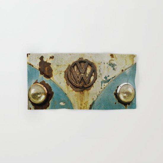 VW Rusty Hand & Bath Towel