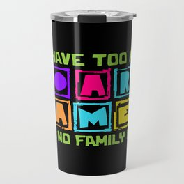 Board Game Lover Travel Mug