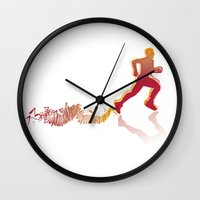 runner Wall Clocks featuring RUNNER by FoOlRusN