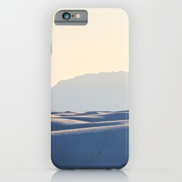 Sunset at the dunes 2 iPhone Case
