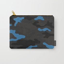 Blue camouflage Carry-All Pouch