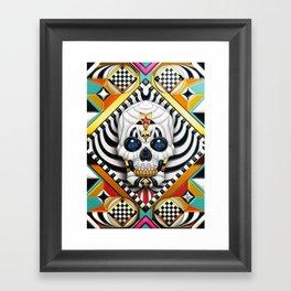 Skullture Framed Art Print