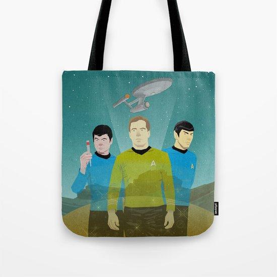 The Enterprise Trio  Tote Bag