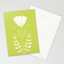 Folky Flower Stationery Cards