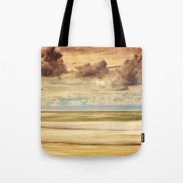 Stormy North Sea Tote Bag