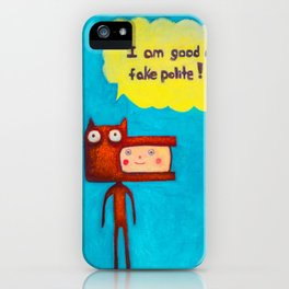 Wolfboy iPhone Case