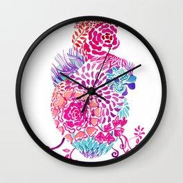 Real heart ornament Wall Clock