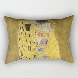 The Kiss by Gustav Klimt Rectangular Pillow