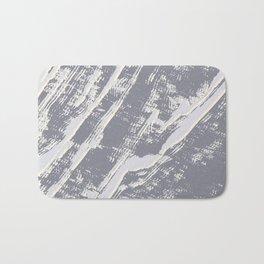 shades of gray marble effect Bath Mat