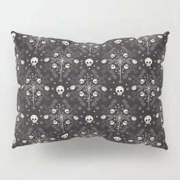 Halloween Damask Floral Pillow Sham