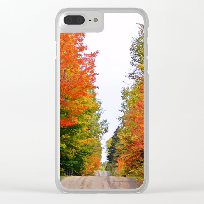 Rolling Through the Hills of Autumn Clear iPhone Case