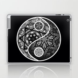 Yin Yang Zentangle Laptop & iPad Skin