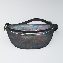 Starry Night Tea Party - Alice In Wonderland Fanny Pack