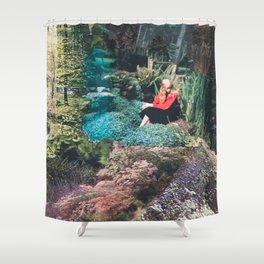 The Red Shirt (Gardentopia)  Shower Curtain