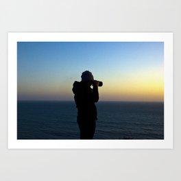 Capturing Sunsets Art Print