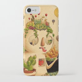 Succulent Man iPhone Case