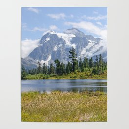 MOUNT SHUKSAN ONE AUGUST DAY Poster