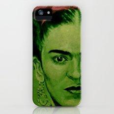 Frida Kahlo - red bow iPhone (5, 5s) Slim Case